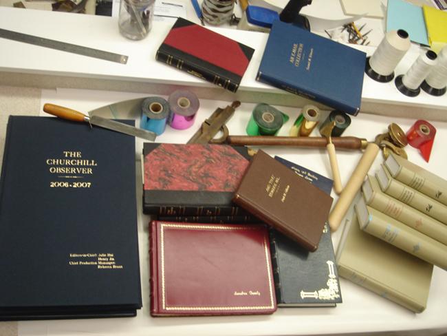 Home bookbinding